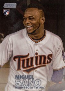 2016 Topps Stadium Club Baseball Variations Miguel Sano