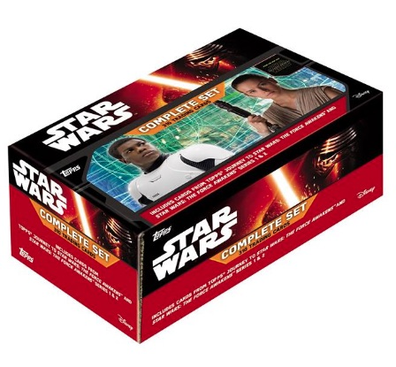 2016 Topps Star Wars The Force Awakens Complete Set main
