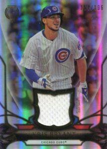 2016 Topps Tribute Baseball Relics Kris Bryant