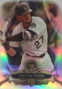 2016 Topps Tribute Baseball Rookies Trevor Story RC