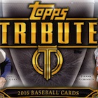 2016 Topps Tribute Baseball Cards