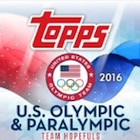2016 Topps US Olympic and Paralympic Team Hopefuls Trading Cards