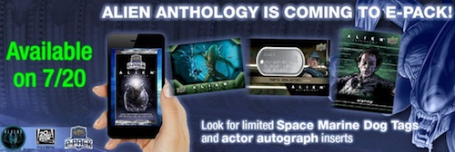 2016 Upper Deck Alien Anthology Trading Cards ePack Release