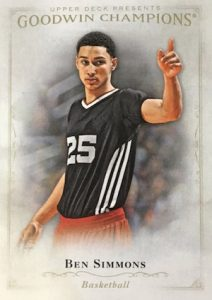 2016 Upper Deck Goodwin Champions Base Ben Simmons