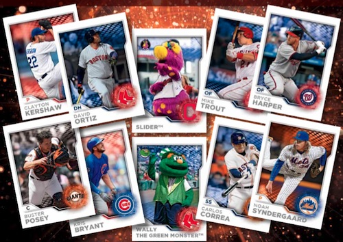 2017 Topps MLB Sticker Collection Baseball main