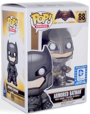 Funko Pop Batman v Superman 88 Armored Batman Legion of Collectors