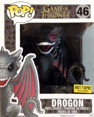 Funko Pop Game of Thrones 46 Drogon 6 inch Hot Topic
