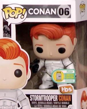 Funko Pop Star Wars Stormtrooper Conan O'Brien #6