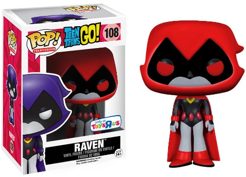 Funko Pop Teen Titans Go 108 Raven Red