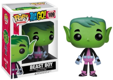 Funko Pop Teen Titans Go 109 Beast Boy