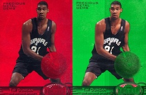 Top 10 Tim Duncan Cards of All-Time