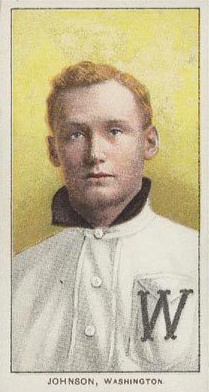 1909 T206 Walter Johnson Portrait