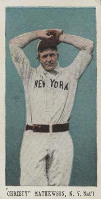 1910 E98 Set Of 30 Christy Mathewson