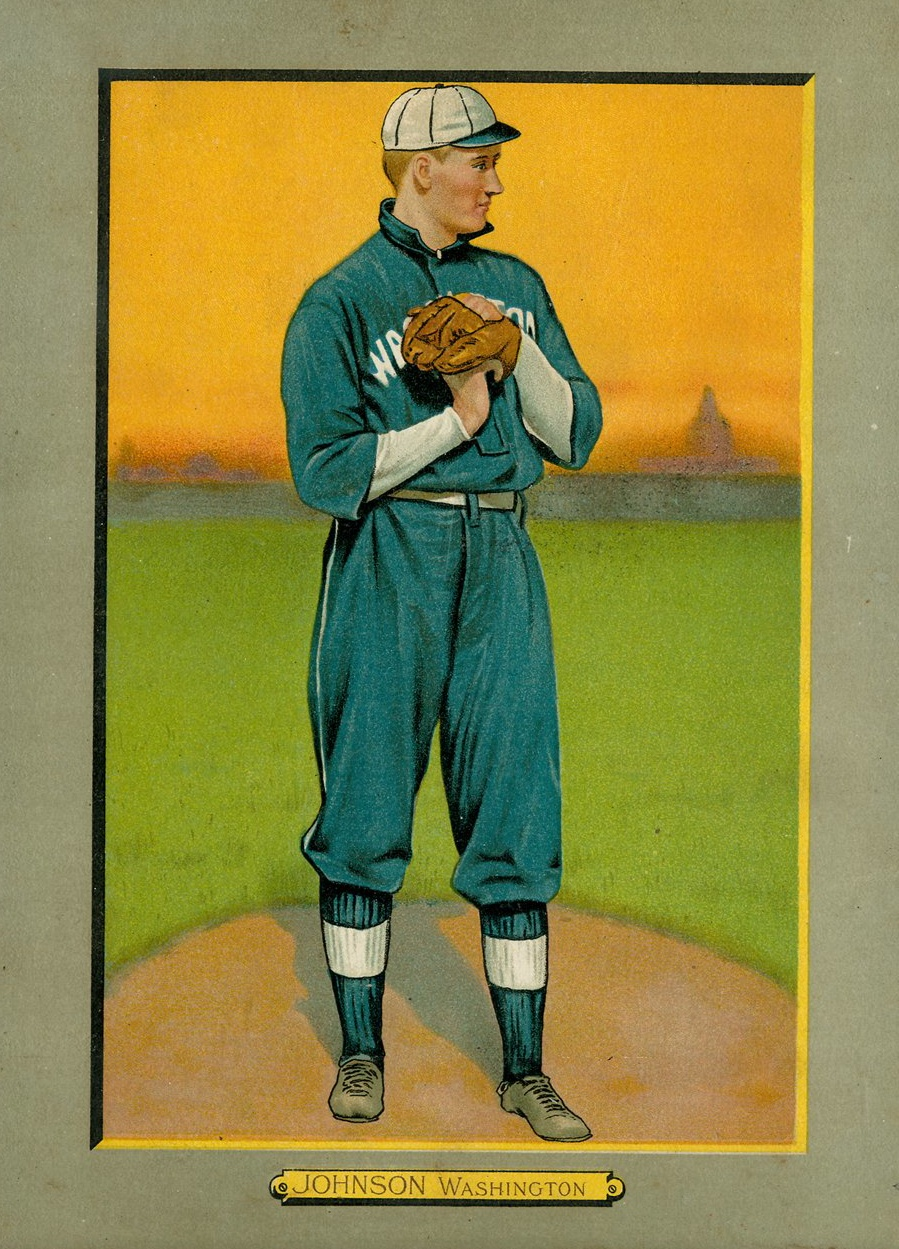 1911 Turkey Red T3 Walter Johnson #99