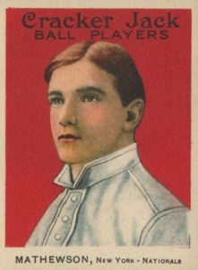 1915 Cracker Jack Christy Mathewson #88