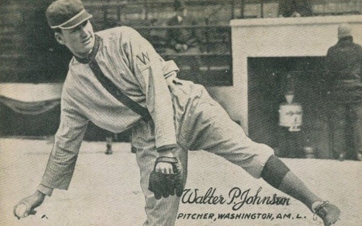 1921 Exhibits Walter Johnson
