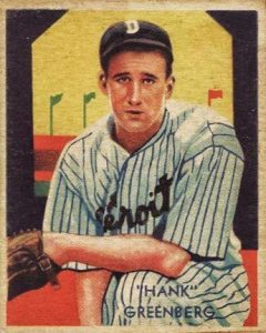 Top 10 Hank Greenberg Baseball Cards 6