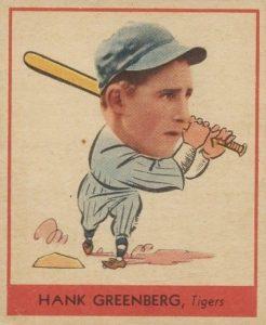 1938 Goudey Hank Greenberg #253