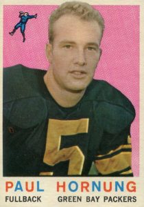 Top 10 Paul Hornung Football Cards 10