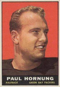 Top 10 Paul Hornung Football Cards 4
