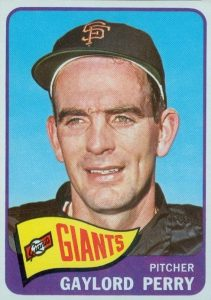 1965 Topps Gaylord Perry #193