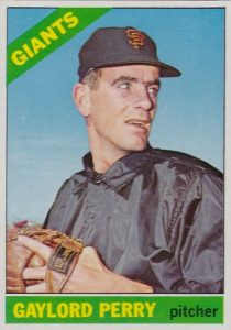 1966 Topps Gaylord Perry #598