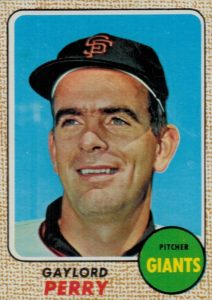 1968 Topps Gaylord Perry #85