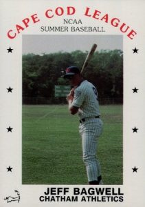 1988 P&L Cape Cod League Jeff Bagwell #57