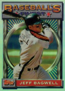 1993 Topps Finest Jeff Bagwell Refractor #11-2