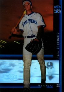 1994 SP Holoview Alex Rodriguez Blue #33