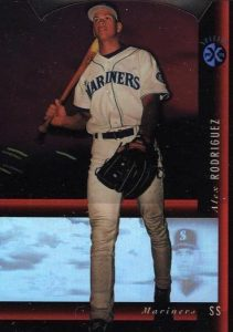 1994 SP Holoview Red Die-Cut Alex Rodriguez #33