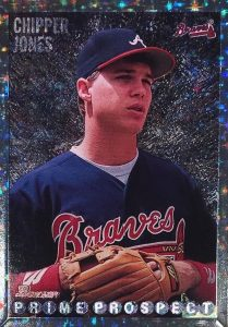 1995 Bowman Foil Chipper Jones #262