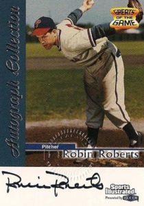 Top 10 Robin Roberts Baseball Cards 8