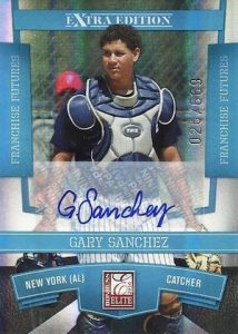 Full Guide to Gary Sanchez Rookie Cards and Key Prospects 20