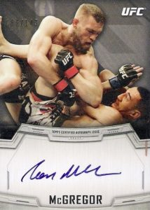 2014 Topps UFC Knockout Autographs Conor McGregor