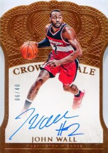 2015-16 Panini Preferred Basketball Crown Royale Autographs John Wall