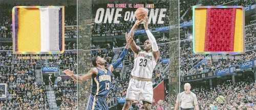 2015-16 Panini Preferred Basketball One on One Book LeBron James