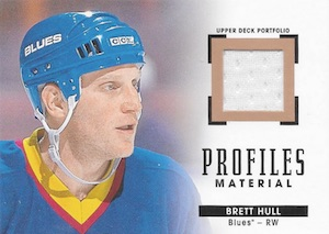 2015-16 Upper Deck Portfolio Hockey Profiles Materials Jersey