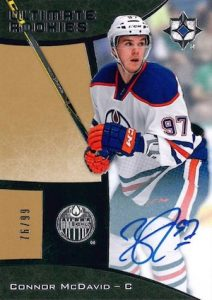 2015-16 Upper Deck Ultimate Collection Hockey Cards
