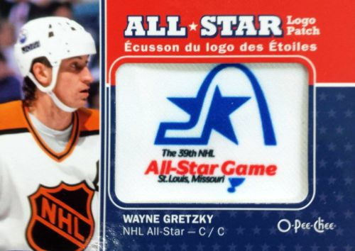 2016-17 O-Pee-Chee Hockey All-Star Logo Patch Wayne Gretzky