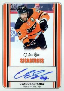 2016-17 O-Pee-Chee Hockey Signatures