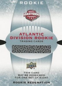 2016-17 Upper Deck MVP Rookie Set Redemption Atlantic Division