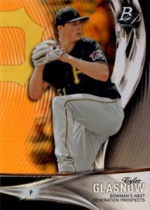 2016 Bowman Next Generation Prospects Orange Glasnow