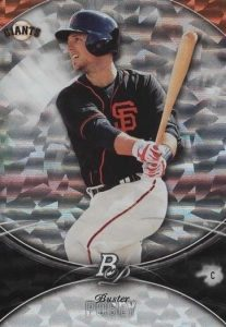 2016 Bowman Platinum Baseball Base Ice Posey