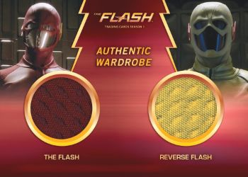 2016 Cryptozoic The Flash S1 Dual Wardrobe Flash:Reverse Flash