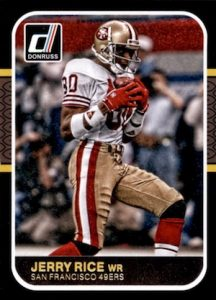 2016 Donruss Football 1987 Classics Jerry Rice