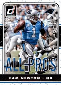 2016 Donruss Football All-Pros Cam Newton