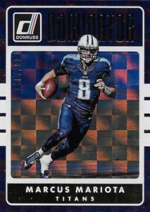 2016 Donruss Football Cards - Factory Set 34