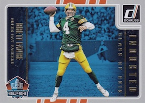 2016 Donruss Football Inducted Class of 2016 Favre
