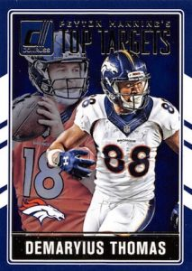 2016 Donruss Football Peyton Manning Top Targets